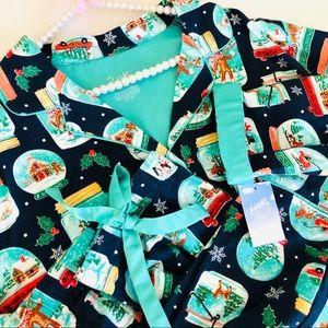 Nick & Nora Holiday Pajama Set S L XL XXL  NEW